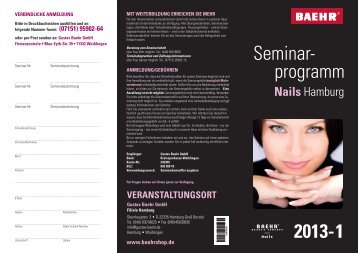 Nails - BAEHR GmbH