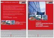 Folder Kompetenzzentrum für Ihre Bauleistungen - Lawog