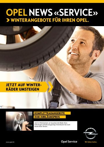 OPEL NEWS «SERVICE» - Auto Studer AG