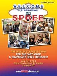 Exhibitor Brochure April 16-18, 2013 Sands Expo ... - SPREE 2013
