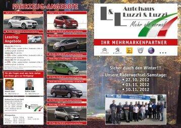 Fahrzeug-angebote - Autohaus Luzzi & Luzzi