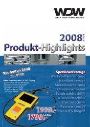 Neuheiten 2008 - Welt-der-Werkzeuge