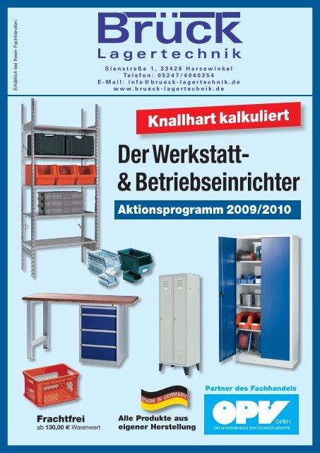 Der Werkstatt- & Betriebseinrichter