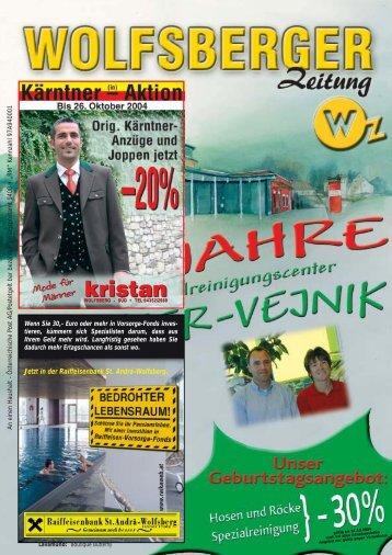 Maier-Vejnik - Wolfsberger Zeitung - Das Regionalmagazin für das ...
