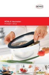 RÖSLE Neuheiten Frühjahr 2012 - Nicolai GmbH