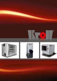 Broschüre Warmlufterzeuger - Kroll GmbH