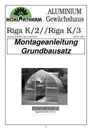 ALU MI NI UM Gewächshaus - Hoklartherm