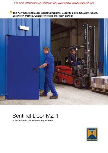 MZ Sentinel Steel Door - Barbour Product Search