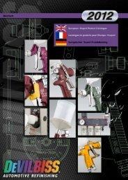 DeVilbiss Katalog 2012 - TT-TransTechnik GmbH