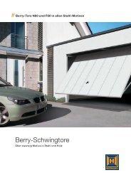 Berry-Schwingtore - Hornbach