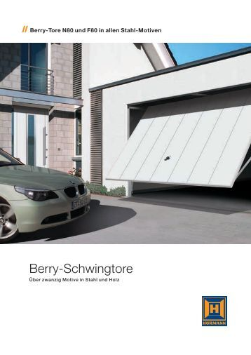 h rmann berry schwingtore. Black Bedroom Furniture Sets. Home Design Ideas