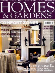 Homes & Gardens November 2007 Flora - Jocelyn Warner