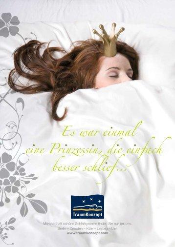 Infos finden Sie in unserer Matratzen-Broschüre - Traumkonzept