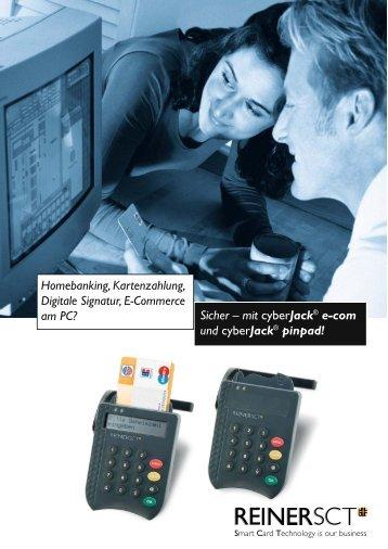 Sicher – mit cyberJack® e-com und cyberJack ... - Multitrade.de