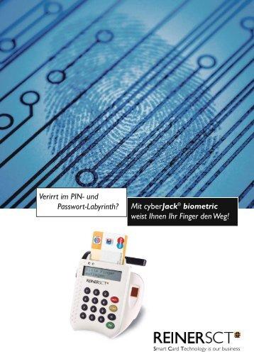 cyberJack® biometric - S.A.C. NET Service am Computernetz