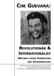 CHE GUEVARA: - Sozialistische Alternative