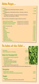 Speisekarte - Sonnenblume Durlach - Seite 2