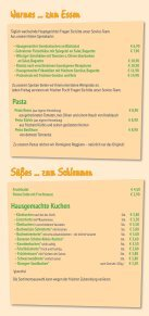 Speisekarte - Sonnenblume Durlach - Seite 3