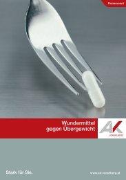 Wundermittel gegen Übergewicht (pdf 1,6 mb) - Arbeiterkammer