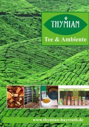 Halbfermentierter Tee aromatisiert - Thymian Bayreuth