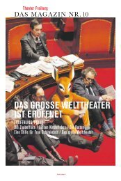 klimaWanDel – Das enDe Der Geo-toPoloGi - Theater Freiburg