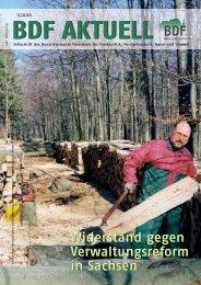 Ausgabe 01/2006 - Bund Deutscher Forstleute (BDF)
