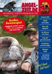 kostenloses sportfischermagazin von - Behr Angelsport GmbH