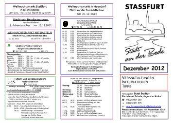 Dezember 2012 - Stadt Staßfurt