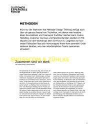 swisscom & zühlke - Customer Experiences That Matter - Stimmt AG