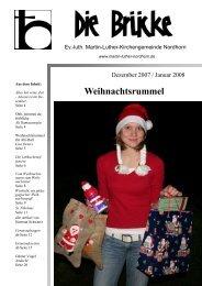 Dezember-Januar 2007/08 - Lutherisch in Nordhorn