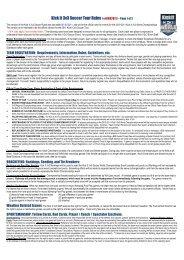 Kick It 3v3 Soccer Tour Rules ( v.01032011) – Page 1 of 2