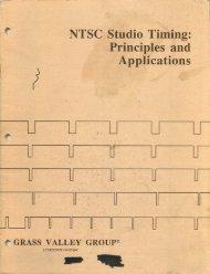 NTSC Studio Timing: Principles and Applications - technicalaudio.com