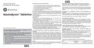 Mastodynon® Tabletten - Bionorica