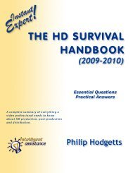 HD Survival Handbook Master Combined 2009 - Philip Hodgetts