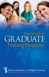 Your Guide to Graduate Nursing Programs - American Association ...