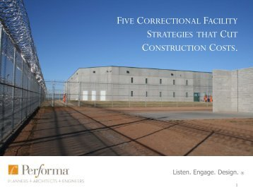 five correctional facility strategies that cut ... - Performa, Inc.