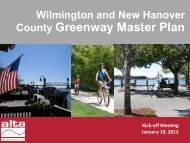 County Greenway Master Plan - WMPO.org
