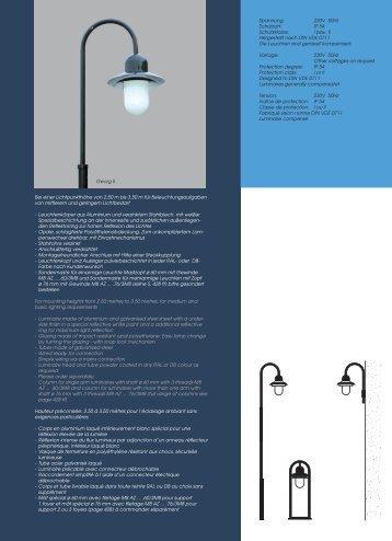 Catalogue Page - Leipziger Leuchten