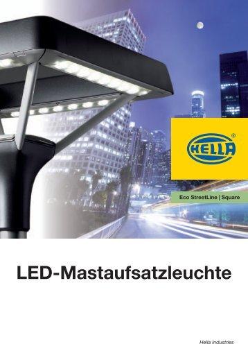 LED-Mastaufsatzleuchte - Support KG