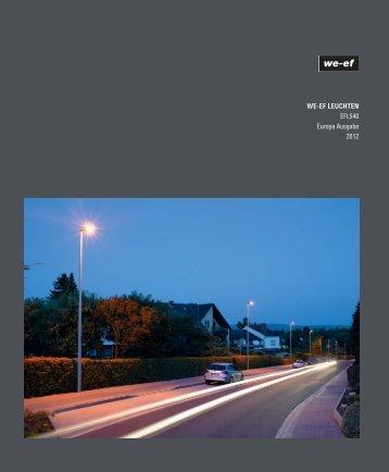 WE-EF LEUCHTEN EFL540 Europa Ausgabe 2012
