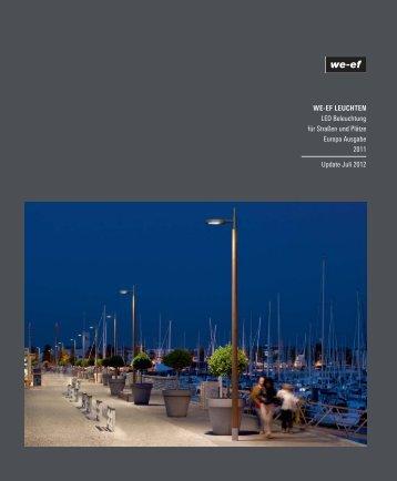 LED Beleuchtung für Straßen & Plätze Update July - we-ef leuchten