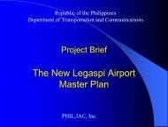 The New Legaspi Airport Master Plan