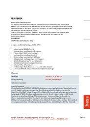 RESIDENZA - Hess AG