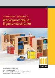 Werkraummöbel & Eigentumsschränke - innverlag