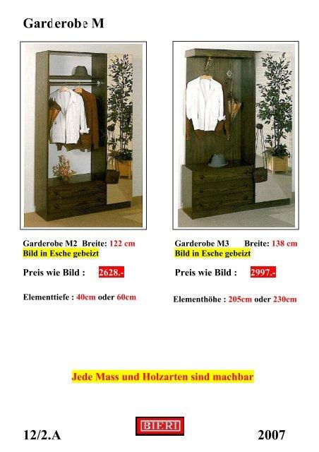 Garderobe M