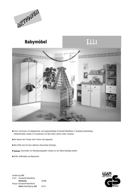 Babyzimmer Elli Baby Bellmann