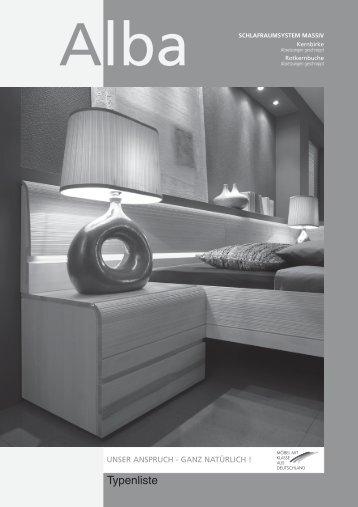 schlafraumsystem massiv - Möbel-Universum