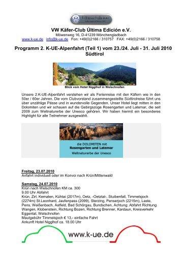 2.K-UE-Alpenfahrt Südtirol_V3 - VW Käfer-Club Última Edición eV
