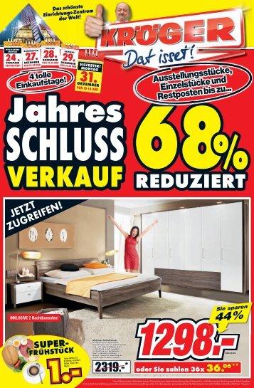 Sie sparen 50% - Möbel-Kröger - Die Weltstadt des Wohnens