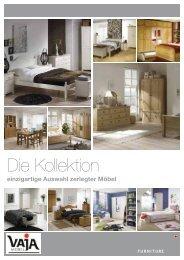 Schlafzimmermöbel, Crme und Kiefer - VAJA-Möbel GmbH